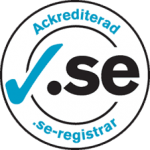 Ackredirerar .SE registrar